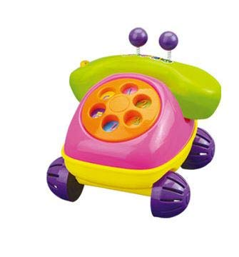 - MeeYum Kids Pretend Play Baby Toy Phone Dial Retro Chatter Telephone