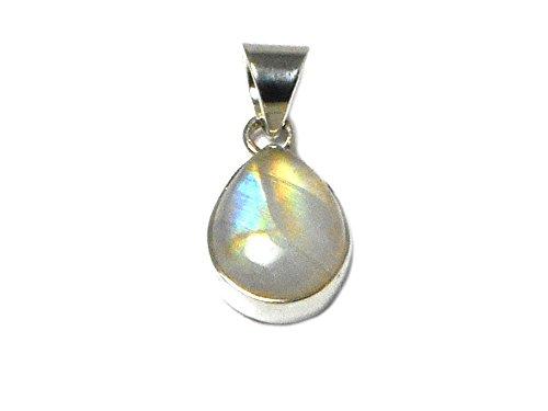 MOONSTONE Sterling Silver 925 Gemstone (Kyanite Moonstone Necklace)