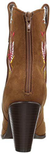 Loves Fashion Boot Penny Kenny Women's Microsuede Sha Tobacco Bqwd8IT