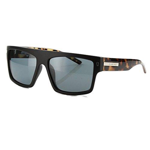 Tort Black de Pol 55 Black Tort Gafas Wavey Matt Pol Unisex Carve Sol Matt afUR40
