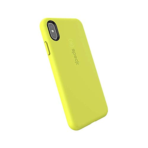 Speck Products CandyShell Fit iPhone Xs Max Case, Antifreeze Yellow/Antifreeze Yellow