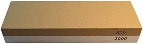 joyMerit ダブルサイド砥石ナイフシャープニングストーン600/2000グリット研磨ツール