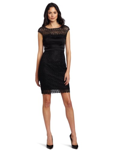 Jax Women's Satin and Lace Dress
