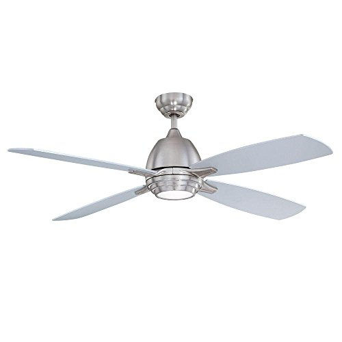 Designers Choice Collection Volan 52 in. Satin Nickel Ceiling Fan-DISCONTINUED -