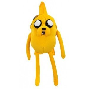 Adventure Time with Finn and Jake - JAKE Character Plush BACKPACK by Cartoon Network ()