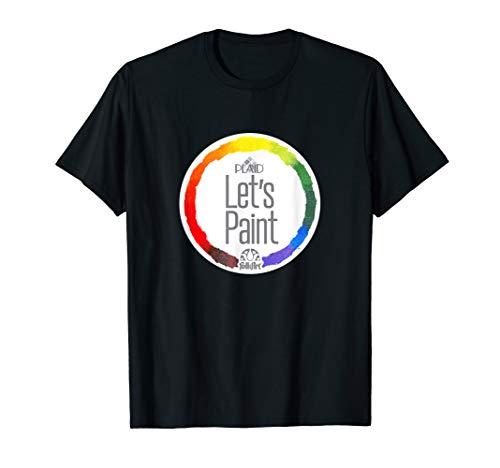 Let's Paint Logo T