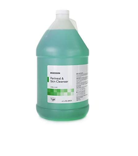Rinse-Free Perineal Wash MSA Liquid 1 gal. Jug Herbal Scent by McKesson