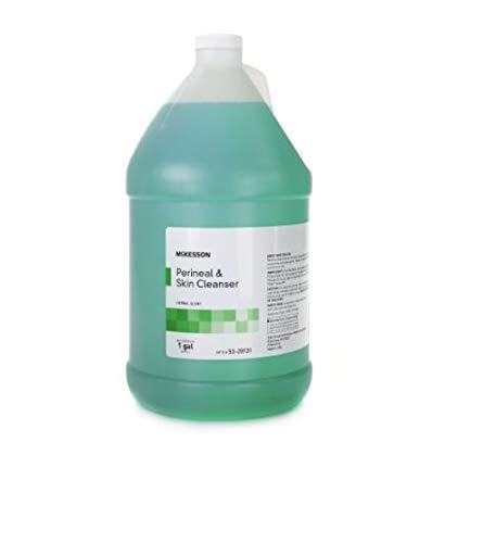 Rinse-Free Perineal Wash MSA Liquid 1 gal. Jug Herbal Scent
