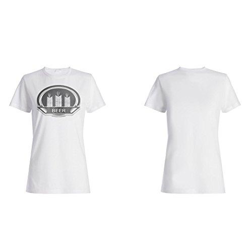 Beste Bierbrauerei Vintage Kunst lustig Damen T-shirt d686f
