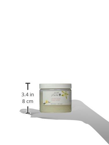 100% Pure: All Natural and Organic, Body Scrub - Vanilla Bean, 16 oz
