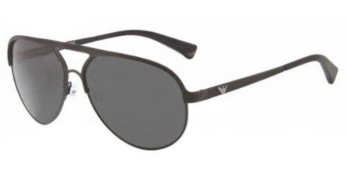 fc03ae7cc59 Emporio Armani EA 2004 3022 87 Matte Black Grey Sunglasses  Amazon ...