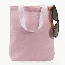 Amazon.com: 12 Pink Canvas tote bags: Toys & Games