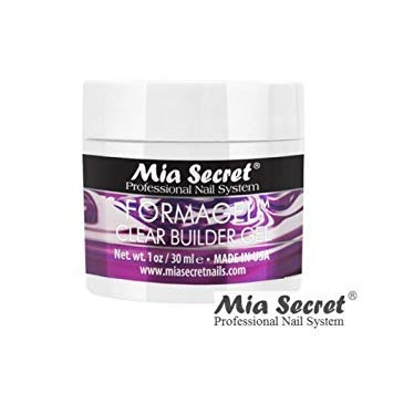 Mia Secret FORMAGEL Clear Builder Gel 1 oz Professional Nail System