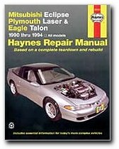 Mitsubishi Eclipse,  Laser, Talon  '90'94 (Haynes Repair (Motor Eclipse Laser)