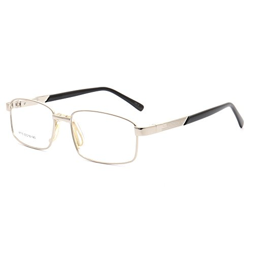 Used, YOUTOP new square fashion optical glasses(silver) for sale  Delivered anywhere in Canada
