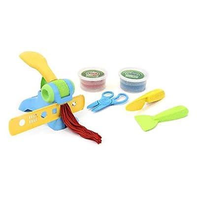 Green Toys, Toy Dough Extruder Set: Toys & Games