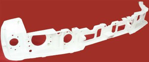 Crash Parts Plus Front Header Headlight Grille Mounting Panel for 1987-1993 Ford Mustang