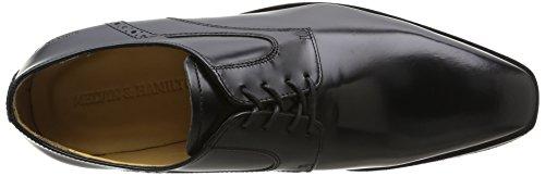 Melvin & Hamilton Austin 2 - Zapatos de Cordones de otras pieles hombre negro - Noir (Brush Black/Rs)