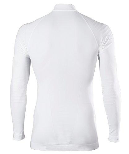 Tight Bianco Shirt Falke Sport Uomo Zip Fit Intimo Caldo Men xSqAq6Iw