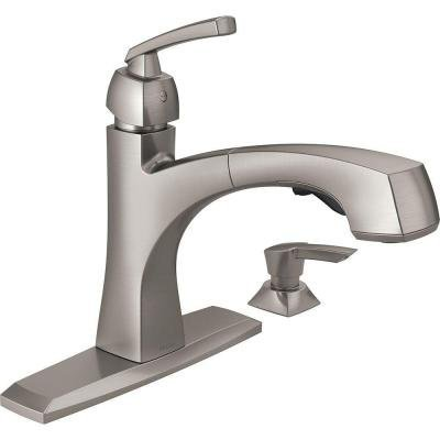 delta-montauk-single-handle-pull-out-sprayer-kitchen-faucet-with-soap-dispenser-and-magnatite-dockin