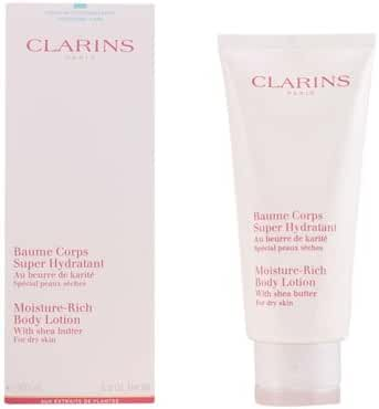Clarins Moisture Rich Body Lotion with Shea Butter, 7 Ounce