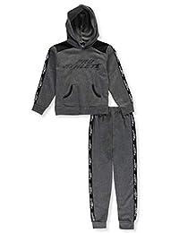 Pro Athlete Boys' Logo Trim 2-Piece Sweatsuit Pants Set