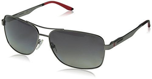 af2afed6dd7c4 Carrera Men s CA8014S Polarized Rectangular Sunglasses