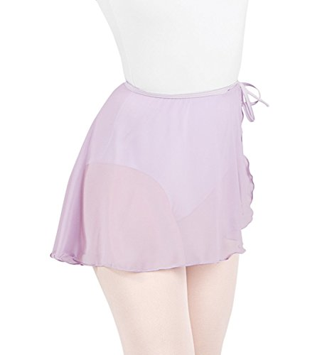 Body Wrappers P981 Womens Premiere Chiffon Skirt (XS-S, Black)
