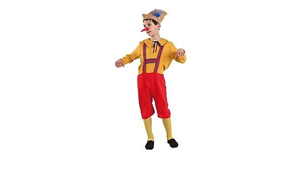 DISBACANAL Disfraz de pinocho Infantil - -, 8 años: Amazon.es ...