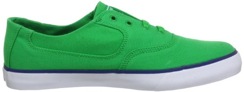DC Shoes Flash TX Mens Shoe D0302911 - Zapatillas de tela para hombre Verde (Grün (Green))