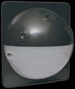 RAB Lighting STUFF500 Tuff Dome, 180 Degrees View Detection, 500W Power, 120V, Bronze Color