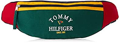 Tommy Hilfiger Unisex Iconic Colourblock Bum Bag Iconic Colourblock Bum Bag, Botanical/Multi, One Size
