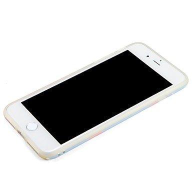 Fundas y estuches para teléfonos móviles, Caja para el iphone de la manzana 7 más la cubierta cubierta del iphone 7 heló el caso suave de la contraportada del modelo geométrico ( Modelos Compatibles : IPhone 6s/6