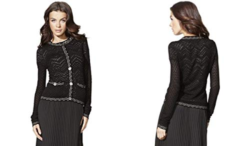 Missoni Cardigan Sweater - Black/White - Small (S)