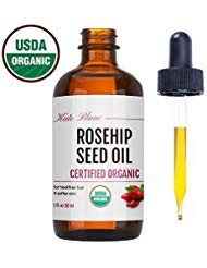 Rosehip Seed Oil by Kate Blanc. USDA Certified Organic, 100% Pure, Cold Pressed, Unrefined. Reduce Acne Scars. Essential Oil...