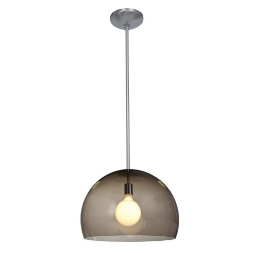Stainless Steel Dome Pendant Light in Florida - 8