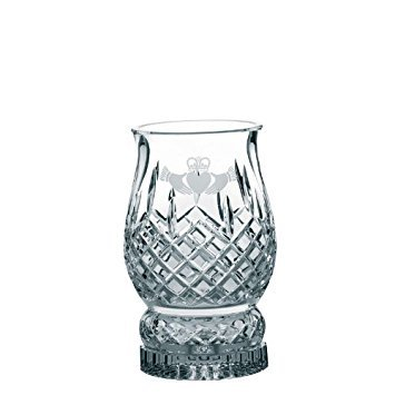 Galway Claddagh Friendship Stemware Pillar Hurricane Lamp