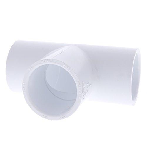 Drip Depot Schedule 40 PVC Slip Tee - Size : 1 inch