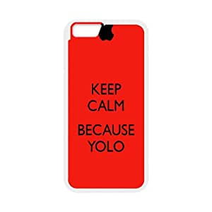 YOLO iPhone 6 4.7 Inch Cell Phone Case White Q9263582