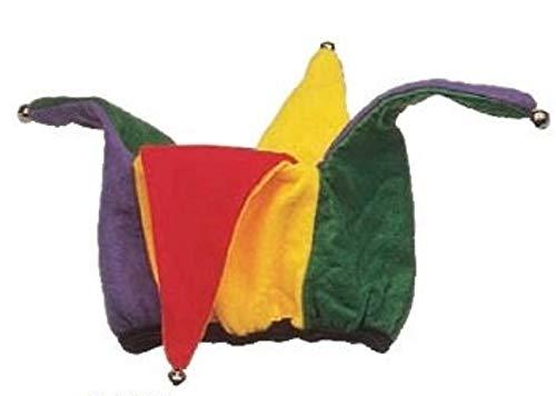 Open Top Jester Hat - Multi Color -