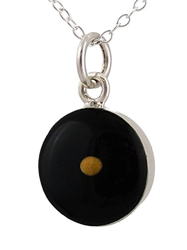 Sterling Silver Mustard Pendant Necklace product image
