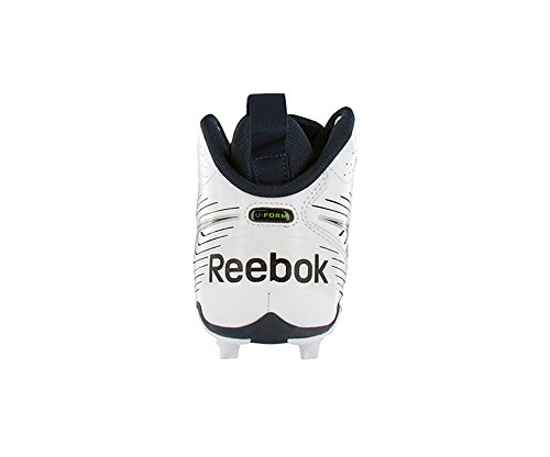 REEBOK NFL U-FORM 4SPEED MID M4 MENS FUSSBALL KLAREN WEIß & NAVY
