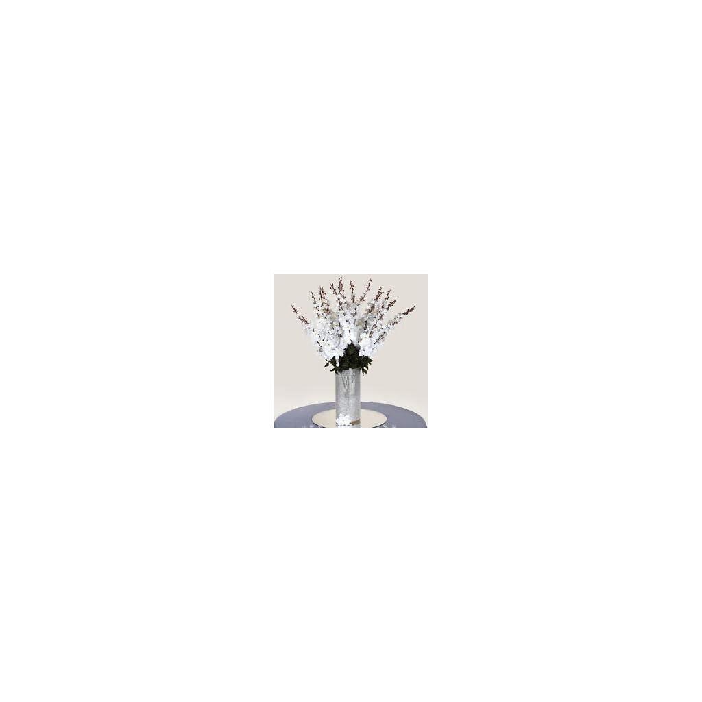 18-to-27-White-Delphinium-Stems-Filler-Silk-Wedding-Flowers-Bouquet-Centerpieces