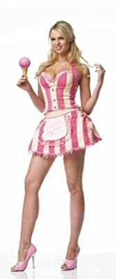 Leg Avenue Womens 'Ice Cream Parlor' Halloween Costume