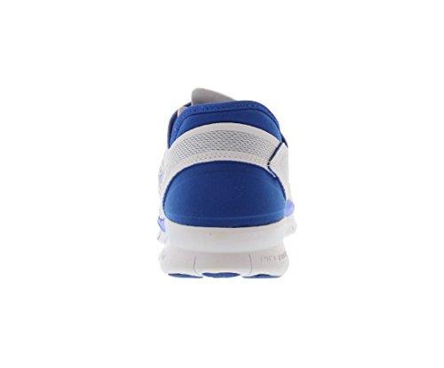 Nike Womens Free 5.0 Tr Passe 5 Prt Trening Sko Kvinner Oss Hvit / Spill Konge