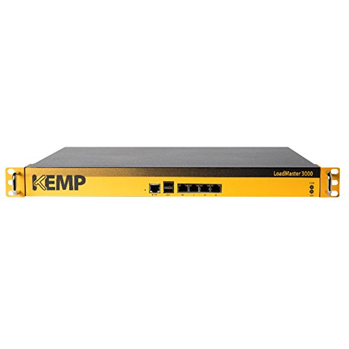 Kemp LoadMaster LM-3000 Load Balancer with 4 x GbE, 1.7 Gbps