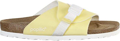 Womens Yellow Pastels Birko Flor Papillio Candy Carrie Sandals Pastel 4wdqqTn8