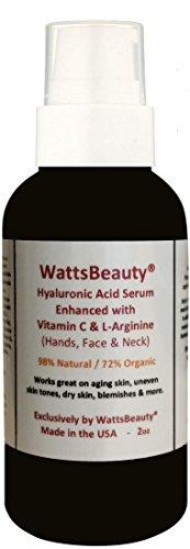 Watts Beauty Moisturizing Hyaluronic Acid Advanced Skin Gel, 2.0 Ounce