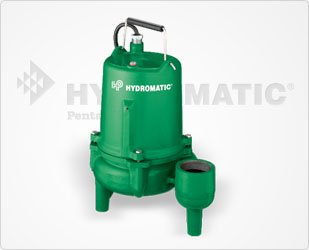 Hydromatic Submersible - Hydromatic SKV50AD1 Submersible Sewage Ejector Pump (Automatic), 10' Power Cord