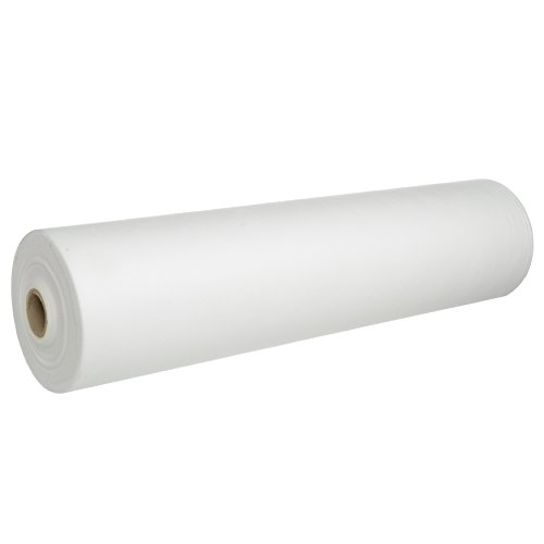 1 Beauty Spa Perforated Disposable Bed ROLL, White Non Woven Exam Bed Cover, 55 Sheets, 24 Inches X 330 Feet, Massage Bed Sheets, Table Covers for Massage, Facial, Wax, Lash, Microneedling, Tattoo. from RSL89
